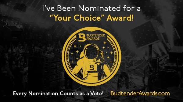 I've been nominated, Your Choice Award, Twitter