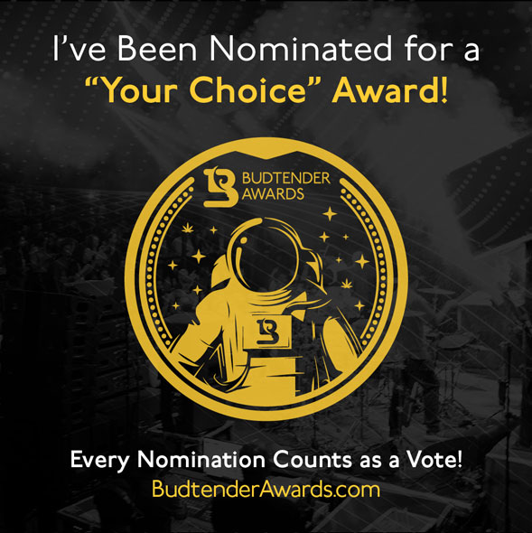 I've been nominated, Your Choice Award