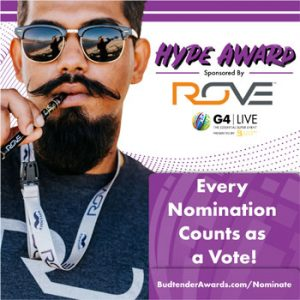 Hype Award Sponsored by Rove